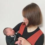 【初マタ出産記】ジェンダーリビールで夫に性別発表! 腰痛でコルセットと杖が手放せなかった妊婦生活