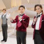 KinKi Kids「デュオ本兄弟」蝶ネクタイ姿で美しいハーモニー披露、岸優太はピアノ伴奏者に
