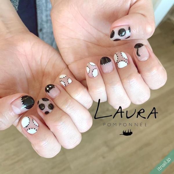 LAURA POMPONNEEが投稿したネイルデザイン [photoid:I0067220] via Itnail Design (654335)