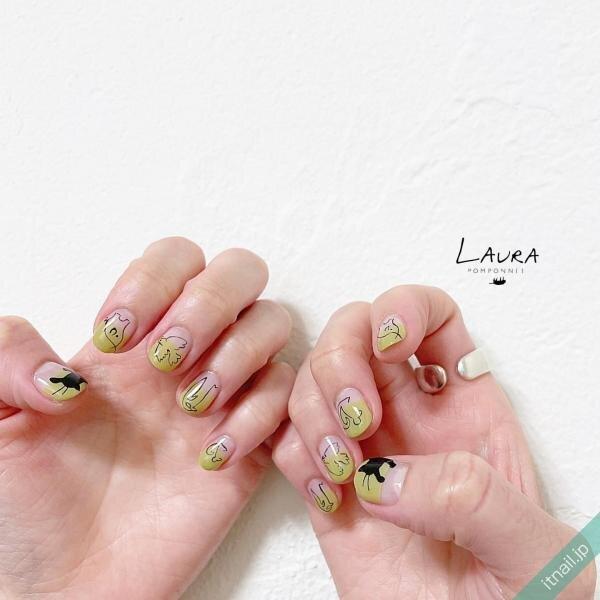LAURA POMPONNEEが投稿したネイルデザイン [photoid:I0098529] via Itnail Design (651882)