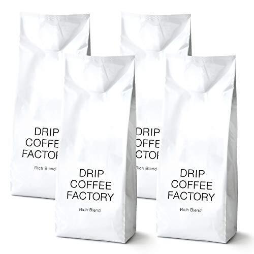 ドリップコーヒーファクトリー リッチブレンド コーヒー 豆 のまま 2kg ( 500g × 4袋 )