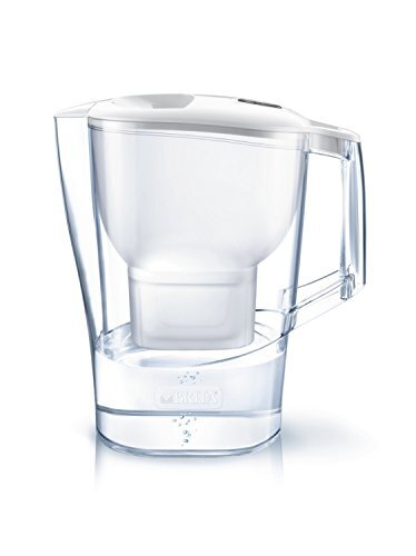 ブリタ 浄水器 ポット 浄水部容量:2.0L(全容量:3.5L) アルーナ XL マクストラプラス カートリッジ 1個付き 【日本正規品】 ホワイト 塩素 水垢 不純物 除去