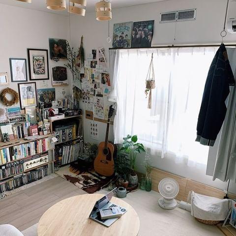 ワンルームの家具配置15