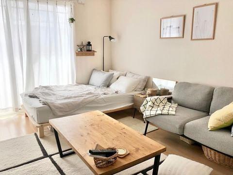 ワンルームの家具配置3