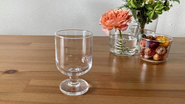 無印良品 「強化ガラス ステムグラス」