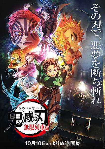 TVアニメ『鬼滅の刃』無限列車編 放送情報