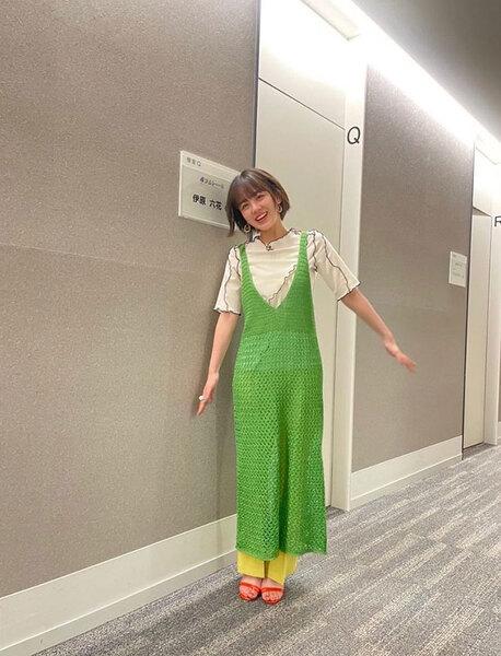「アメトーーク!」出演を報告した伊原。トップ画像ともに伊原六花公式インスタグラム(@rikka.ihara.official)より。