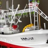 【おもしろプラモ】マグロが食べたくて仕方がないので「マグロ漁船」を作ってみた