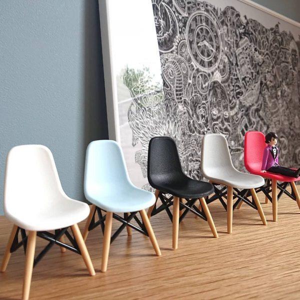 【セリア】大人買いしたくなるミニチュア椅子