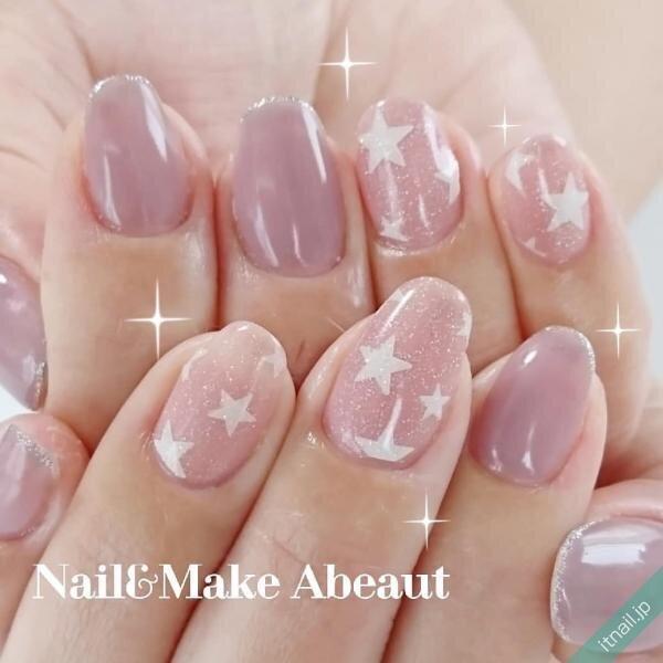 Nail&Make Abeautが投稿したネイルデザイン [photoid:I0075062] via Itnail Design (653512)