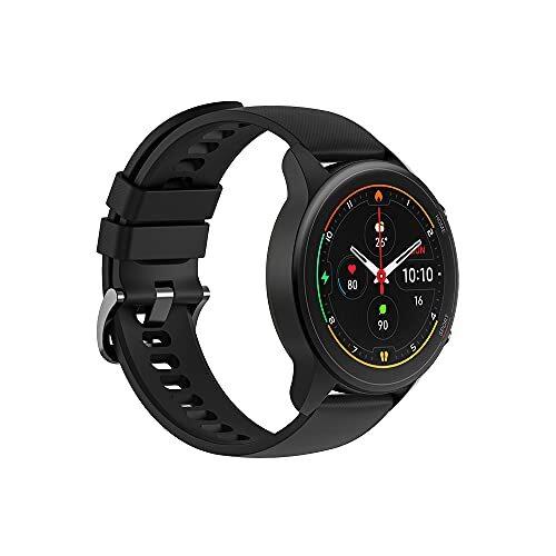【日本正規代理店品】Xiaomi Mi Watch スマートウォッチ 1.39インチディスプレイ 血中酸素レベル測定 16日間バッテリー持続 117種類スポーツモード 32g軽量設計 GPS運動記録 LINE・メッセージ・座りすぎ・着信通知 (ブラック)