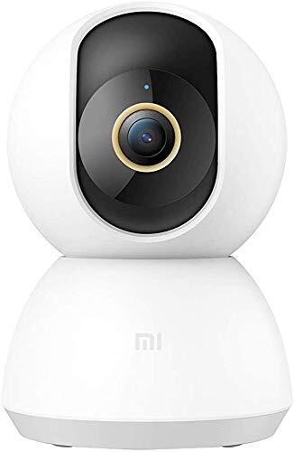 【日本正規代理店品】Xiaomi Mi 360°家庭用スマートカメラ 2K 日本版 1296p 300万画素 WiFi防犯・監視カメラ スマホ通知 AI人体検知 双方向通話 夜間撮影 猫/犬/子供/老人見守り 32GBまでMicro SDカード対応