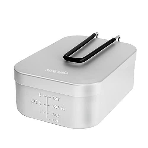 MiliCamp ラージメスティン アルミ飯盒 キャンプ炊飯 山飯 アウトドア 調理器具 バリ取り不要 MR-750