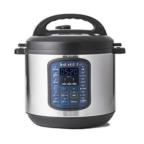 【国内正規輸入品】マルチ電気圧力鍋 Instant Pot 1台9役 Duo SV 5.7L ブラック
