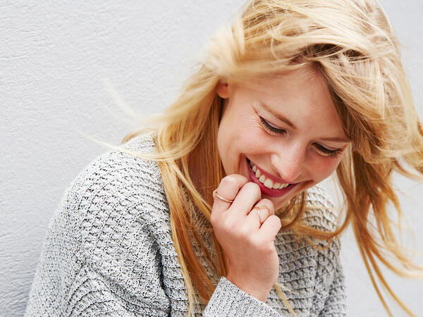 笑顔がかわいい