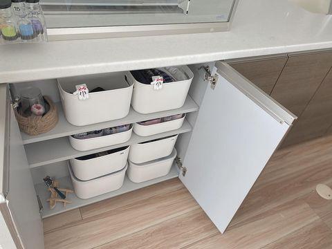 無印&ダイソーボックスを活用したすっきり整理収納