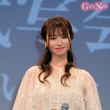深田恭子、『劇場版 ルパンの娘』完成にファンの前で4ヶ月ぶり笑顔