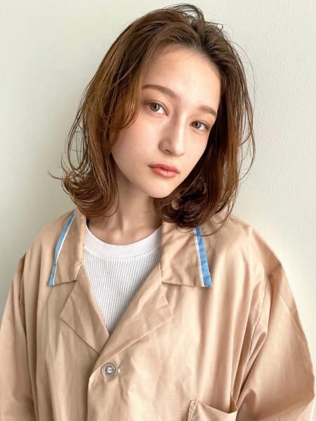 秋冬トレンドの髪型13