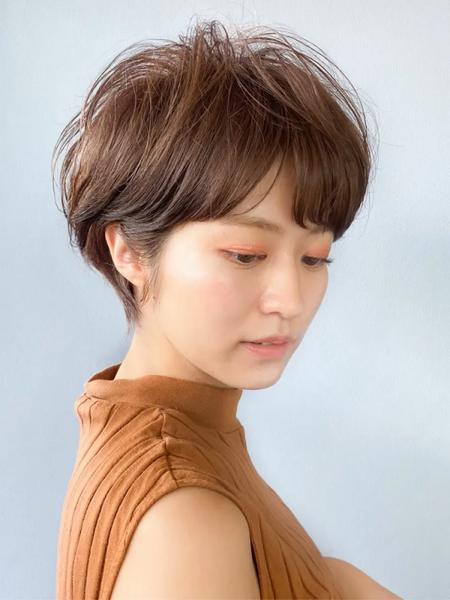 秋冬トレンドの髪型6