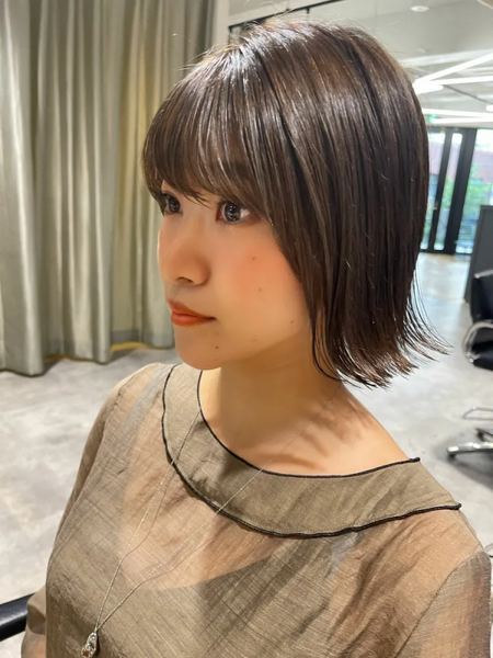 秋冬トレンドの髪型7