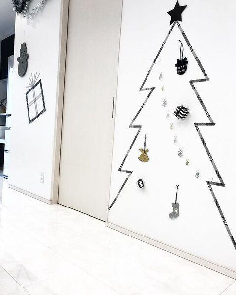 クリスマスツリーDIY10