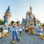 ディズニー・ワールド50周年記念イベント開幕 パーク最大規模のナイトタイムスペクタキュラー登場、シンデレラ城も周年仕様に