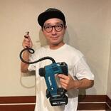 """「本当に買ってよかった!」自転車声優・野島裕史、念願の""""電動空気入れ""""を購入、その使い勝手は…?"""