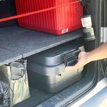 アウトドア好きな方におすすめ!トランクカーゴが使いやすくて便利