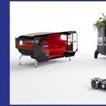 シトロエンが描く未来。球形タイヤのEVプラットフォームが自由な発想の車体を乗せて街を走る