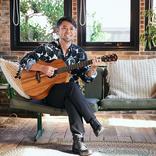 河口恭吾、デビュー20周年アルバム詳細と新アー写を公開 ジャケ写は片岡鶴太郎が描いた肖像画を元にデザイン