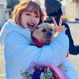 清野菜名&山本舞香に挟まれるアイドル犬に嫉妬「今日から俺は!!」幸せだ~!