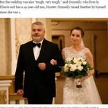 結婚式直前に亡くなった女性から臓器提供を受けた花嫁、ドナーの父が結婚式のエスコートで感涙(米)<動画あり>