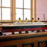 レゴで伝説の豪華客船1/200スケールで復活! 全長1.3mを超えるレゴ史上最大級のセット レゴ(R)タイタニック号!