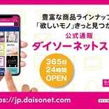 【ダイソーネットストア】オープン!欲しいもの1個から合計1,650円から注文できるよ|News
