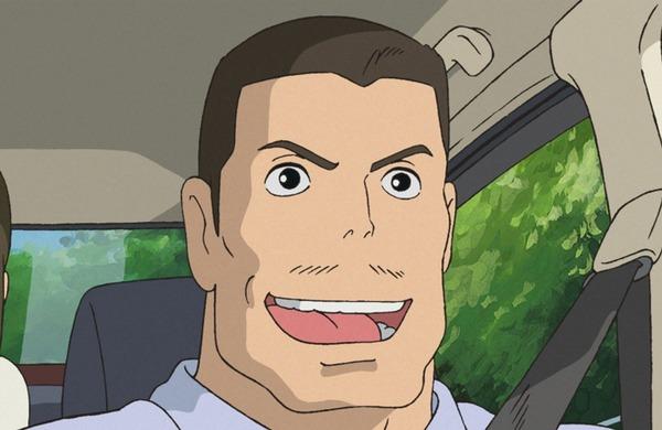 千尋の父  (C)2001 Studio Ghibli・NDDTM