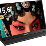 【Amazonタイムセール中!】約795gの15.6インチ モバイルモニターが18%オフ、HDMIキャプチャーカードが1,240円など