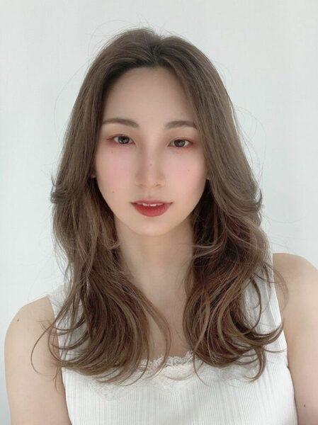 韓国風レイヤーカット2