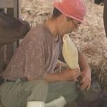 熊本地震で自宅を失った牛島さん、再建まで牛舎で暮らす