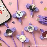 BTS「TinyTAN」×「iFace」がコラボ!BTSキャラクターの可愛いマスコットクリップつき「TinyTAN iFace ライトニングケーブル」が10月25日(月)より販売開始!