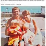 亡き母と海に投げたメッセージボトル、24年の時を経て息子のもとに戻る(英)