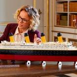 エンジンも動くよ。9,090ピースで全長約140cmのレゴのタイタニック号は中身もすごい