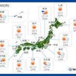 18日月曜の天気 日本海側は昼頃まで所々で雨や雪 晴れる太平洋側も服装選びに注意