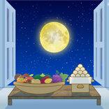 今夜は「十三夜」 月を見られる所は?
