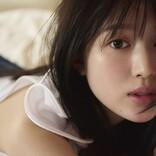 福本莉子、4年ぶりの写真集 ロングヘアばっさりカットで妖艶ドレス姿も