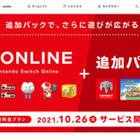 NINTENDO 64とメガドライブのソフトが遊べる「Nintendo Switch Online +追加パック」は10月26日(火)サービス開始!