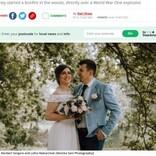 焚火で第一次世界大戦時の不発弾が爆発 新婚旅行中の妻が重傷、弟ら2名死亡(ウクライナ)