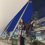 石川恋、夜景をバックにしたライダースジャケット姿公開「素晴らしくカッコいい」の声