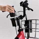 ホンダの電動アシスト自転車、モバイルバッテリーが補助電源として使えるようになる