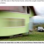 「別の景色を見たい」妻の一言で360度回転する家を造った男性(ボスニア・ヘルツェゴビナ)<動画あり>